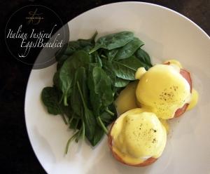 donatella arpaia italian inspired eggs benedict recipe